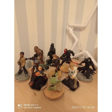 Disney Infinity figurki Star Wars