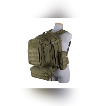 Plecak taktyczny GFC Assault Upgraded | Olive