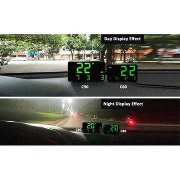 Uniwersalny GPS HUD prędkościomierz NOWY