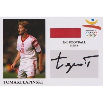 Tomasz Łapiński (Widzew, Legia) AUTOGRAF