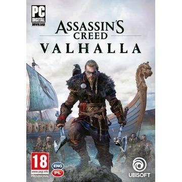 Assasin's Creed Valhalla kod UPLAY PL - PC