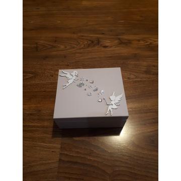 Komódka drewniana organizer szkatułka prezent