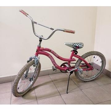 Rower bmx dla dziewczynki Next SlumberParty -używ