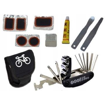 Zestaw naprawczy serwisowy do rowerów NOWY +gratis