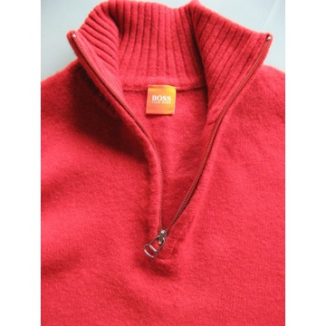 HUGO BOSS sweter 100% VIRGIN WOOL *M* ORYGINAŁ