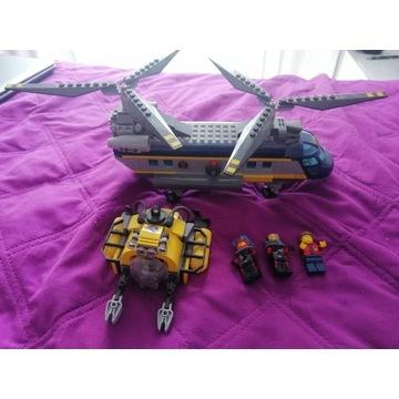 Lego 60093 City klocki Helikopter badaczy.