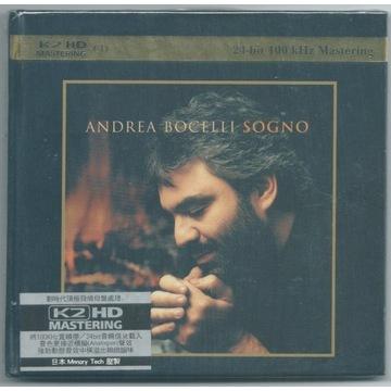 ANDREA BOCELLI - Sogno - K2HD - NOWA FOLIA