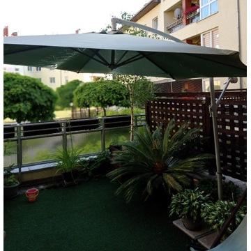 Parasol ogrodowy uszkodzony, stelaż do parasola