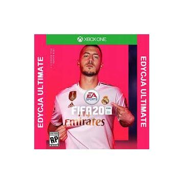 FIFA 20 EDYCJA ULTIMATE XBOX ONE PL DUBBING 2020