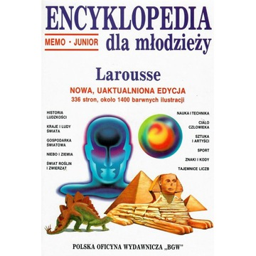 Encyklopedia Memo - Junior dla młodzieży.