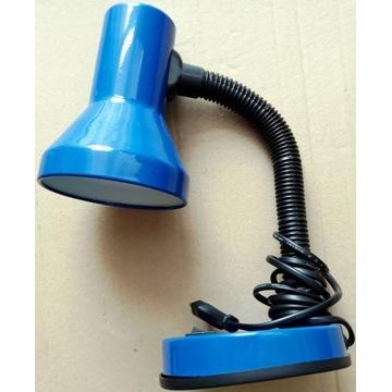 Lampka biurkowa + LED 5,5W/40W + Świetlówka 8W/40W