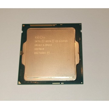 Intel Xeon E3-1225 v3 LGA1150 pod NAS lub do gier