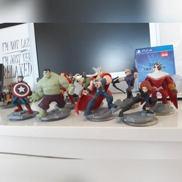 Infinity 2.0 gra plus 17 figurek, platforma