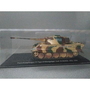 kolekcjonerski MODEL CZOŁGU Tiger - 1944