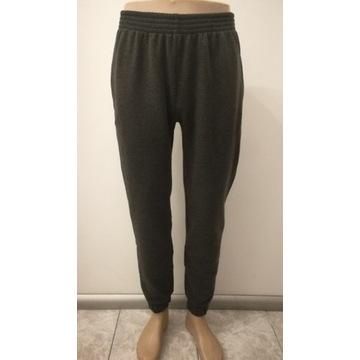 Spodnie dresowe joggery męskie L