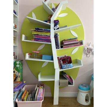 Drzewko Polka na książki Zabawki Timoore
