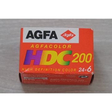 Negatyw małoobrazkowy Agfa Agfacolor HDC 200 / 30