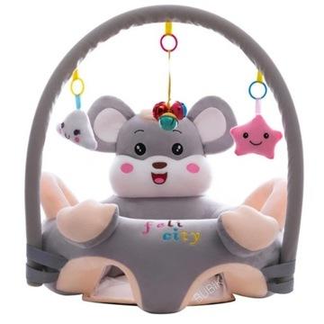 NOWY fotelik dla niemowląt/nauka siedzenia+zabawki