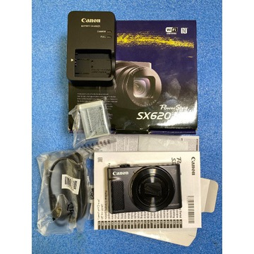 Canon PowerShot SX620HS plus dodatkowy akumulator