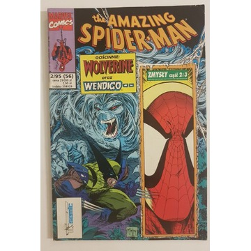Spiderman 2/1995 Tm-Semic, Marvel Komiks Nr 2/95