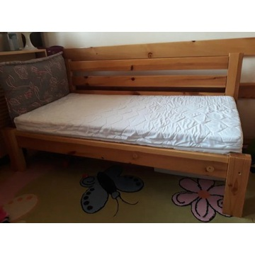 Tapczanik Łóżeczko dziecięce 140x70 nowy materac