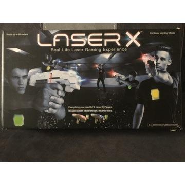 LaserX zestaw dla 2 osób. Idealne na dzień dziecka