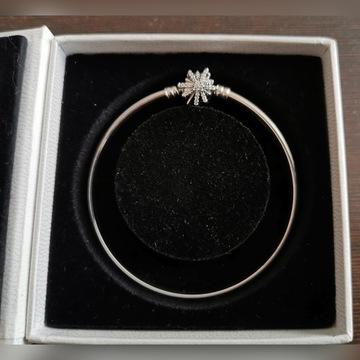 Bransoletka Pandora bangle 597763CZ - rozmiar 21