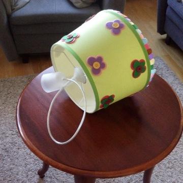 Lampa dziecięca w motylki - sufitowa