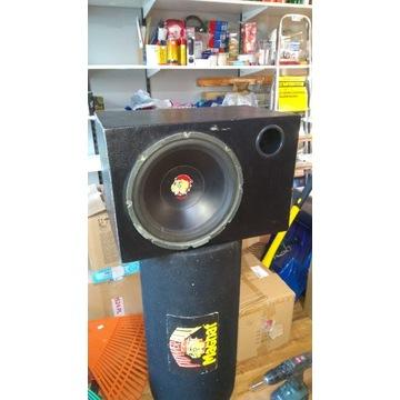 Skrzynia+ tuba+ głośnik Magnat Power Bull 3000