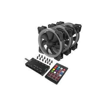 Redragon gc-f008 3-pak wentylatory aRGB LED