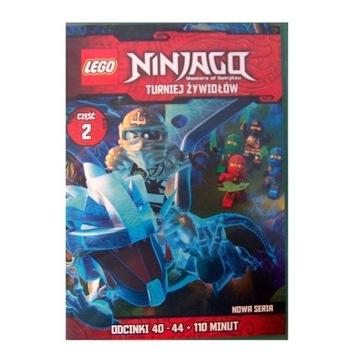 LEGO Ninjago, cz.: 2, odc.: 40-44 - dvd z licencją