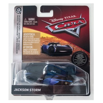 AUTA CARS 3 JACKSON STORM FLM50