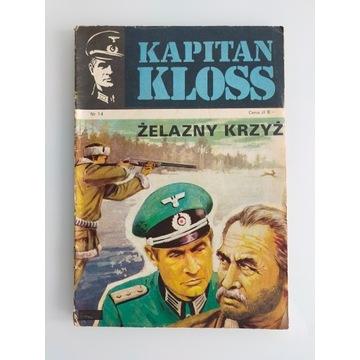 Kapitan Kloss Żelazny krzyż wydanie pierwsze