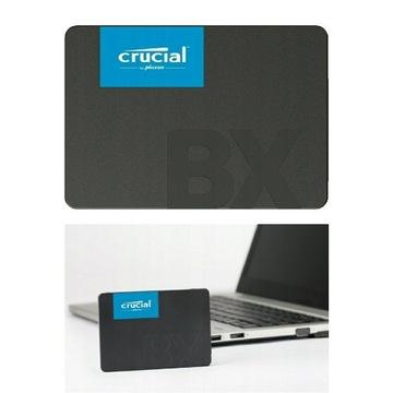 Dysk SSD Crucial BX500 480GB SATA 540/500 MB/s