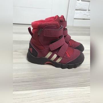 Buty zimowe śniegowce r26 adidas