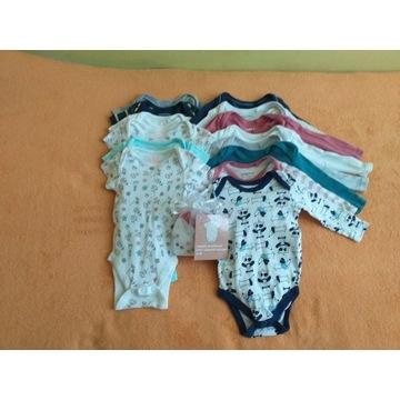 Ubranka dla niemowlaka rozmiar 62 i 68