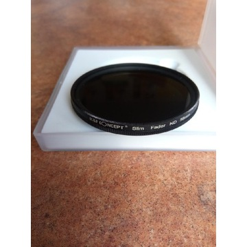 K&F CONCEPT Filtr ND szary 58mm FADER ND2-400