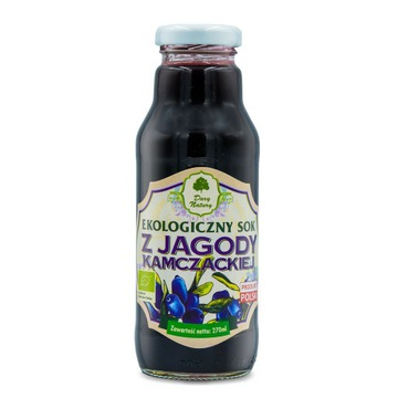 Sok z jagoda kamczacka 270 ml Dary Natury PRZECENA