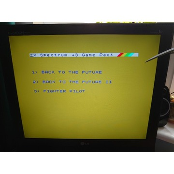 ZX SPECTRUM 128 K + 3 DYSKIETKA 5 GIER