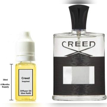 Inspirowany Creed Aventus Zapach Samochodowy 30ml