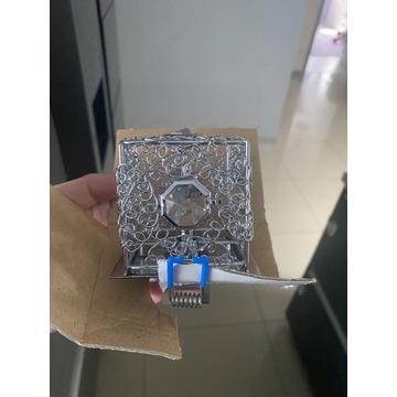 Halogen Oczko 3 szt nowe krysztal srebro