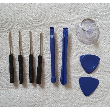 Zestaw narzędzi do naprawy telefonu i zegsrka