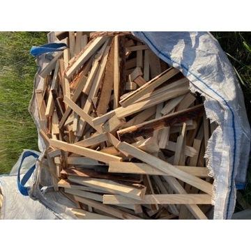Drewno opałowe rozpalkowe sosna sosnowe