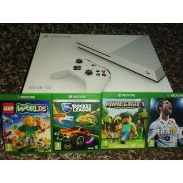 Jak Nowa Konsola XboxOne 500GB+Gry LEGO MINECRAFT