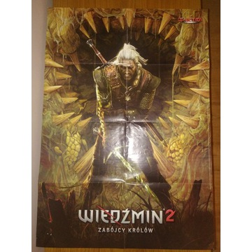 Plakat Wiedźmin 2 Need for speed hot duży 85x60 cm
