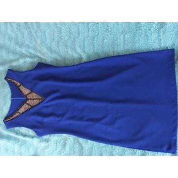 Sukienka chabrowa 38