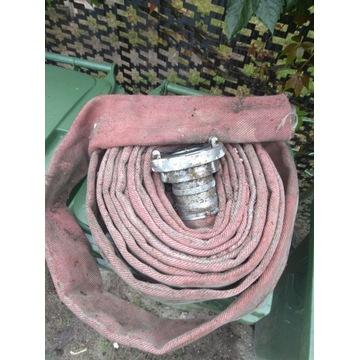 Wąż strażacki, parciany