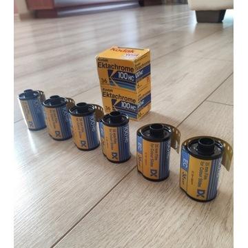 Filmy/ klisze do aparatu Kodak Ektachrome 100 HC
