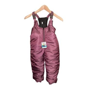 Spodnie zimowe kombinezon dla dzieci polar 98