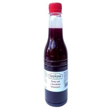 Żywy sok z buraka kiszonego